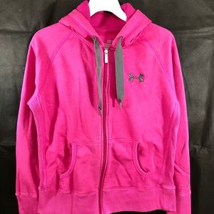 Under Armour Storm Armour Hoodie Bright Pink Sz S